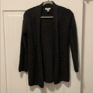 Barely worn. Gray sweater cardigan